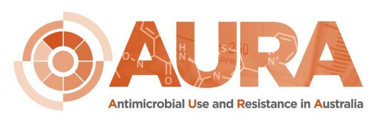 Antibiotic Use and Resistance in Australia (AURA) logo