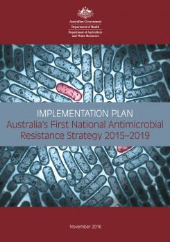National AMR Implementation Plan - Cover